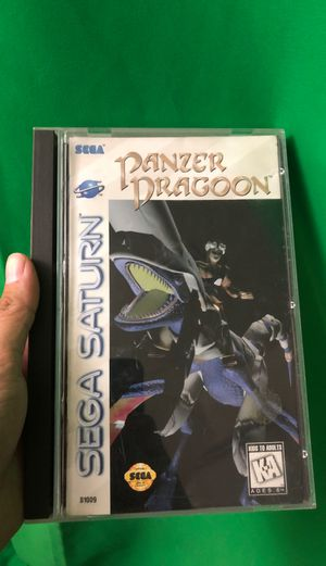Panzer Dragoon (Sega Saturn, Good Condition) Complete ***RARE*** for Sale in Vail, AZ