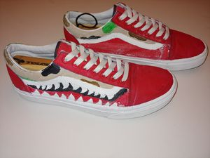Custom Low Top Vans, Mens 10 for Sale in Greensboro, NC