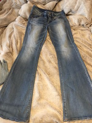 American eagle bellbottoms size 4 new for Sale in Farmerville, LA