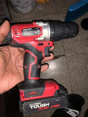Wireless powered drill with battery no charger only 10$ at Walmart asking 40 firm its charged and you can test it for Sale in Miramar, FL