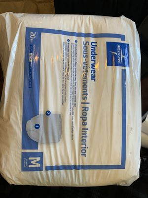 Adult diaper or briefs for Sale in Long Beach, CA