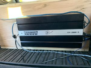 Sundown Audio amplifier for Sale in Savannah, GA