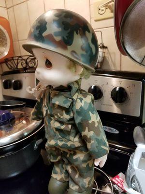 Army boy precious moments for Sale in Brooklyn, NY