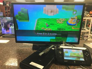 Nintendo Wii U with Mario game Wii U pad console all cords for Sale in Austin, TX