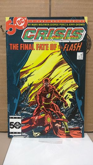 Death of Flash in Crisis on Infinite Earths #8 for Sale in Modesto, CA
