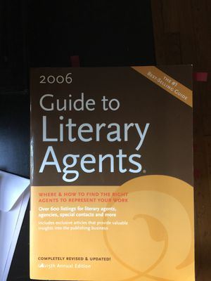 Free 2006 guide to literary agents for Sale in Atlanta, GA