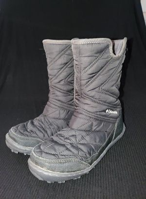 Columbia Girl's Youth Minx Slip III Snow Boot, Black,Size 1 girls. for Sale in Victorville, CA