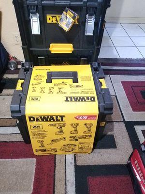 Dewalt Combo kit [8 TOOL] 20V TOOL Box Packout NEW for Sale in Norwalk, CA