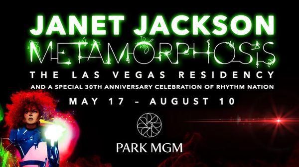 Janet Jackson TONIGHT Park MGM