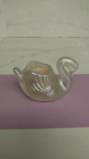 Emson Designer Collection Glass Swan Candle Holder for Sale in Wood Village, OR