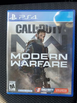 Call of Duty Modern Warfare for PS4 for Sale in Chula Vista, CA