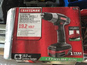Craftsman drill for Sale in St. Louis, MO