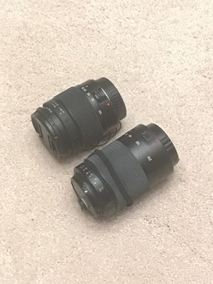 Promaster Lenses 28-105 & 80-210 for Canon EF Mount for Sale in San Diego, CA