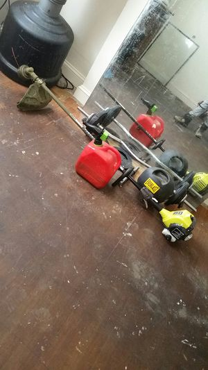 Weed Wacker, weights , big mirror for Sale in Philadelphia, PA