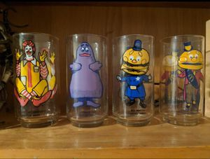 McDonald's glass collection for Sale in Dinuba, CA