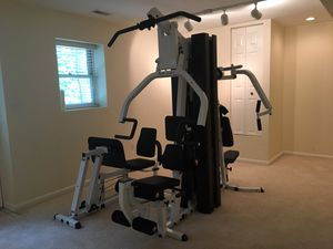 Body Solid EXM3000LPS 7 station home gym for Sale in Columbia, MD