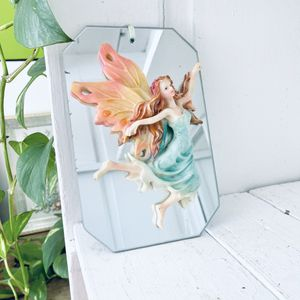 """Enchanting Mystical Fairy Figure Figurine Mirror Wall Hanging 5"""" x 8"""" for Sale in Bartlett, IL"""