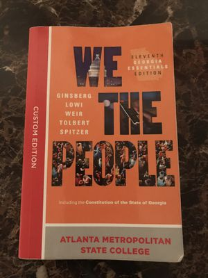 We The People History Book for Sale in Atlanta, GA
