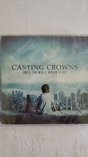 New Casting Crowns Music CD Until The Whole World Hears Christian Christianity Read Below for Sale in Upland, CA