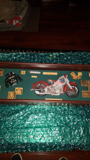 "Stripes"" Harley Davidson Shadow box for Sale in Decatur, GA"