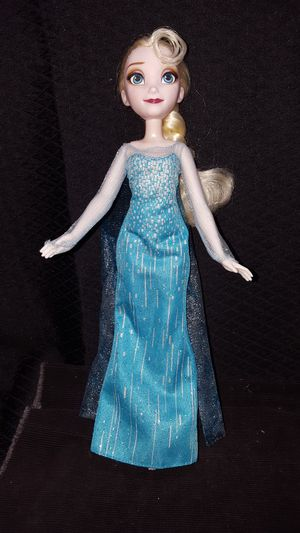 "11 1/2"" frozen Elsa Doll for Sale in Zanesville, OH"
