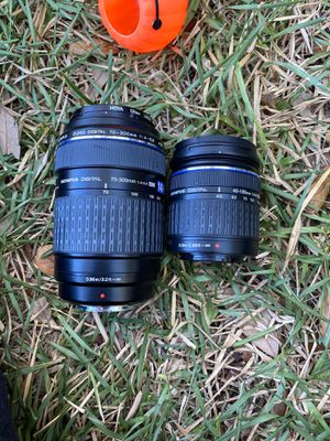 Olympus digital camera lenses for Sale in San Antonio, TX