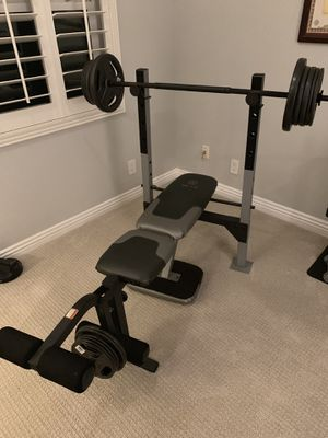 Workout bench press for Sale in Tustin, CA