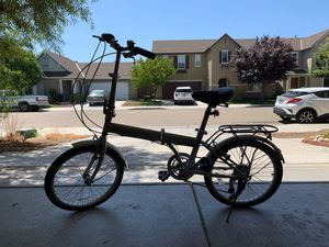 [Brand New] Folding Bike (Never Used) with Shimano 6 speed for Sale in Fresno, CA