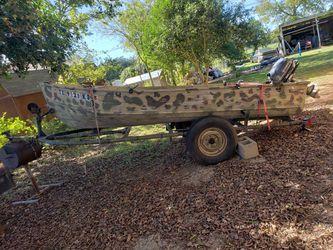 Boat & Trailer only OBO for Sale in Belton,  TX