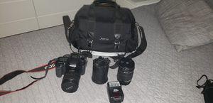 Canon EOS 7D con extras for Sale in Miami, FL