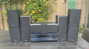 Onkyo Surround Sound Speaker System (with remote) for Sale in Miami, FL