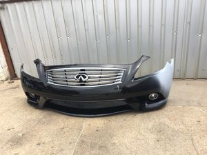 Part infiniti G37 / Q60 coupe Bumper assembly 08-13 Bumper right side repair, good shape for Sale in Dallas, TX