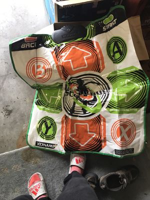 Dance dance revolution mat for x box for Sale in Portland, OR
