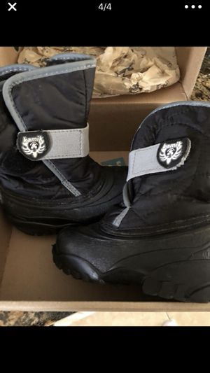 Kamik snow boot— little boys for Sale in Fort Lauderdale, FL