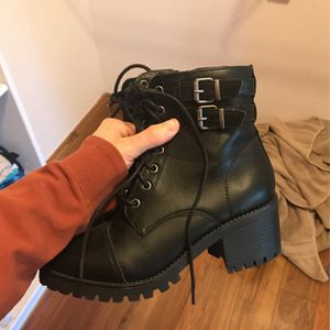 Black boots - Small Heel MADDEN NYC for Sale in Parker, CO