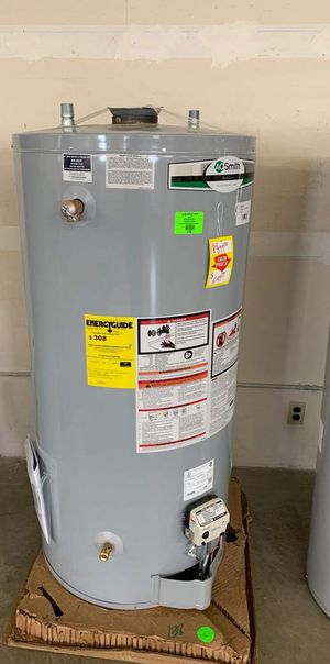 New AO SMITH 74 gallon WATER HEATER WITH WARRANTY X for Sale in Dallas, TX