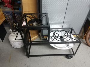 Fish fryer/double burner for Sale in Victoria, TX