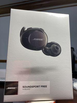 Bose SoundSport Free Wireless for Sale in Hamtramck, MI