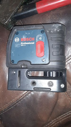 Bosch plumb bob laser 3 point for Sale in Los Lunas, NM