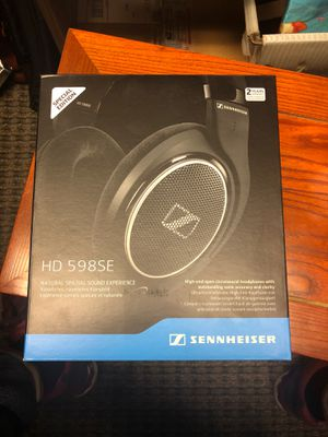 Sennheiser headphone hd 598se for Sale in Portland, OR