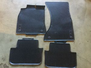 Genuine OEM Factory All Weather Floor Mats Audi A4 for Sale in Redmond, WA