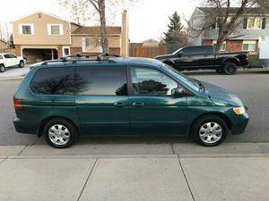 2002 Honda Odyssey EL-X for Sale in Denver, CO