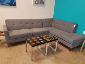 Alba Corner Sectional Mid Century Modern!!! for Sale in Houston, TX