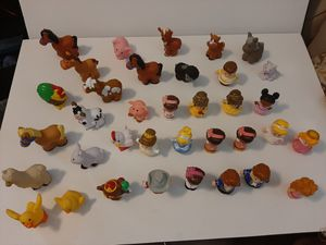 Lot of 36 mixed little People Figures for Sale in Cumming, GA