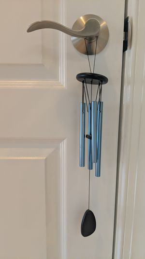 Turquoise blue wind chime for Sale in Rockville, MD