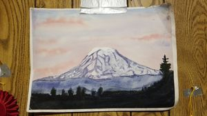 Beautiful landscape mountain painting for Sale in WA, US