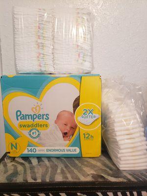 Box of Pampers newborn for Sale in Brandon, FL