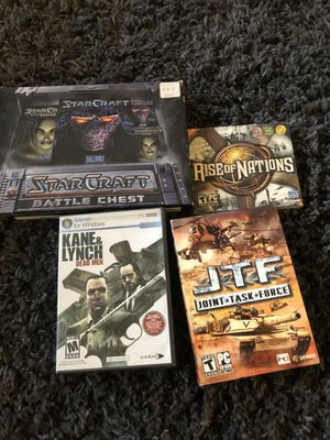 Lot of PC games for Sale in Riverside, CA