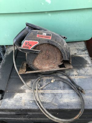 Craftsman circular saw for Sale in Tracy, CA
