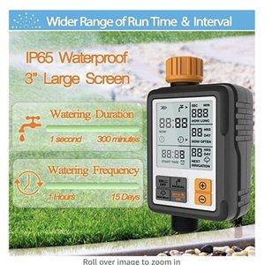 "Digital Irrigation Timer - Programmable Water Timer Garden Lawn Hose Faucet Sprinkler Water Timer - 3"" Large Screen/IP65 Waterproof for Sale in Winston-Salem, NC"